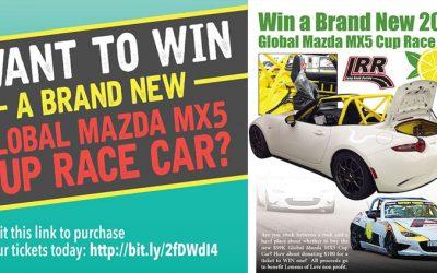 3-Days Left • Win a Mazda MX5 Global Cup Race Car