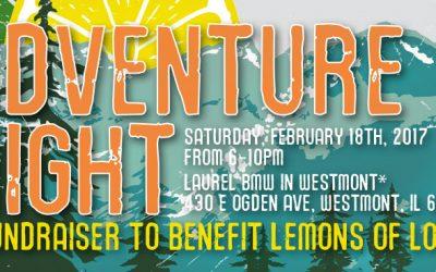 Fundraiser: Adventure Night to benefit Lemons of Love
