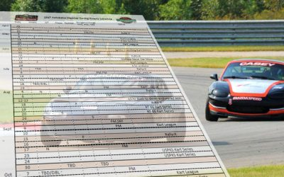 Presenting the Member Racing and Events Schedule!!
