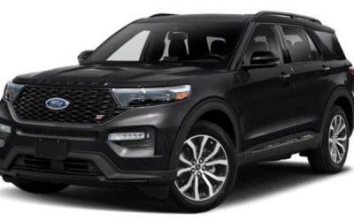 New Fleet Car – Ford Explorer ST