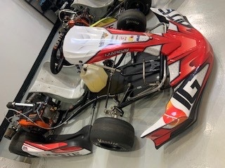Never Raced K3 Kart for Sale