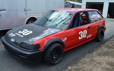 Honda CivicSi FP race car