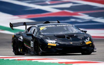 Missig Finishes Strong in Lamborghini Super Trofeo at COTA