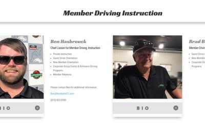 New Member & Guest Driver Orientation