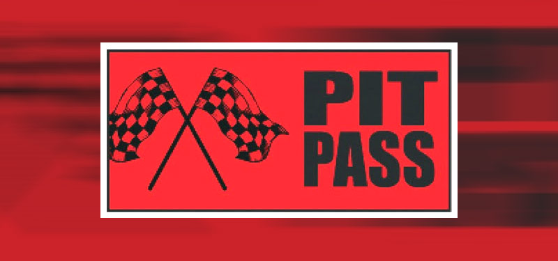 Pit Vehicle Passes Now Required