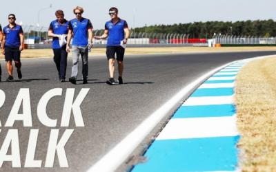 Track Walk – Thursday August 26th
