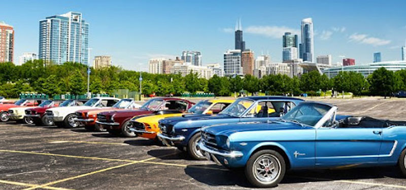 Trackside Vintage Mustang Show – October 10th